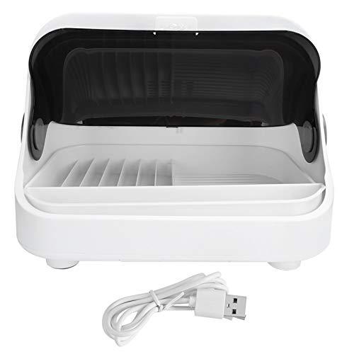 Mini caja de sal de escritorio Mini gabinete UV Gabinete ultravioleta Vajilla sellada Rejilla de drenaje Organizador de cocina