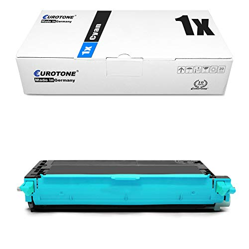 1x Eurotone Toner für Dell 3110 3115 cn ersetzt 593-10171 PF029 Blau Cyan