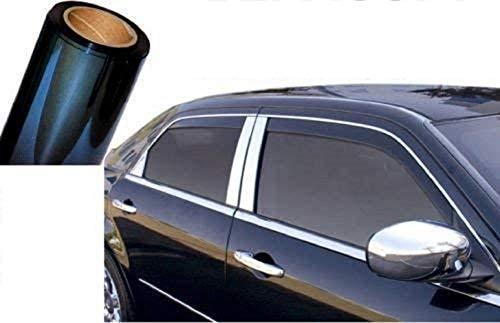 SLS SHOP Rotolo Pellicola Oscurante Anti Sole per FINESTRE E VETRI di Auto Parasole CASA Ufficio Scura 300X50