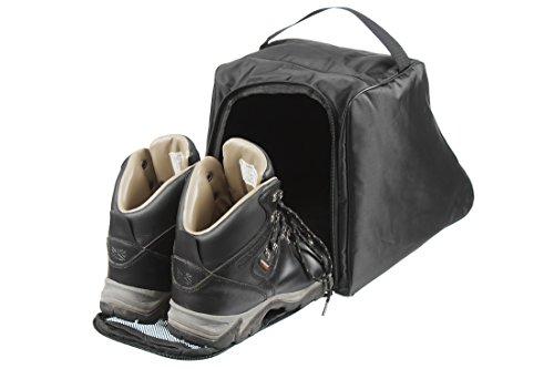 Case4Life Schwarz Wasserabweisend Wanderschuhe Tasche/Schuhtasche Sack