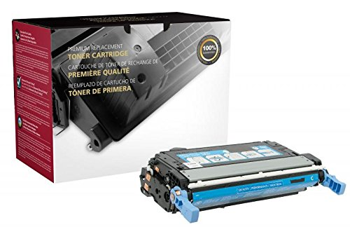 Inksters Remanufactured Toner Cartridge Replacement for HP Q5951A (HP 643A) - Cyan