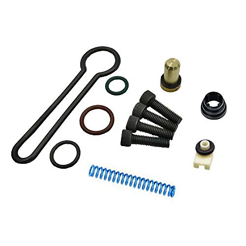 Compatible for 2003-2007 Ford Powerstroke Diesel 6.0 Fuel Pressure Regulator Updated Blue Spring Kit Replace OE # 3C3Z-9T517-AG