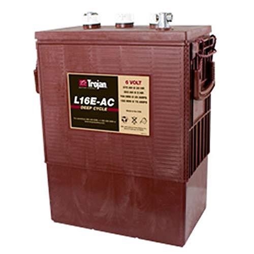 Trojan L16E-AC Flooded Lead Acid Deep Cycle Battery 6V 370Ah