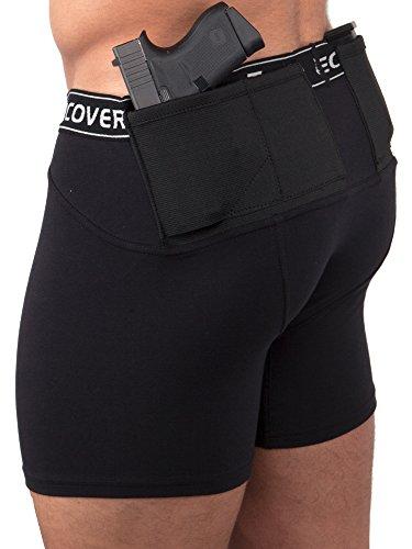 Under Tech Undercover Men's Shorts Black LG T0479BK-L