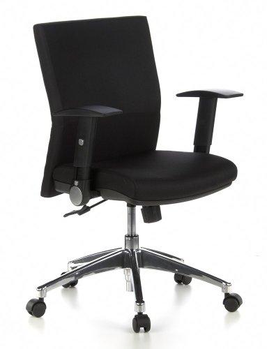 hjh OFFICE Bürostuhl/Drehstuhl Laguna PRO Stoff schwarz
