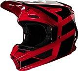 Fox V2 Hayl - Casco para bicicleta (talla L), color rojo