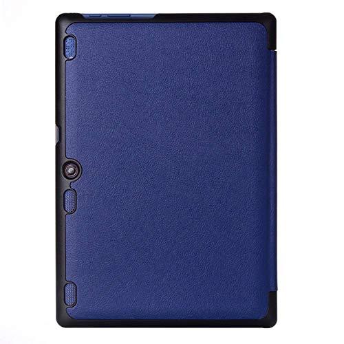 Lobwerk Case für Lenovo Tab 2 A10-30 A10-70F / Tab 10 TB-X103F 10.1 Zoll Schutzhülle mit Auto Sleep/Wake + Touchpen Blau