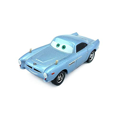Desconocido Disney Disney Pixar Cars Finn McMissile Metal Diecast Toy Car 1:55 Loose In Stock &