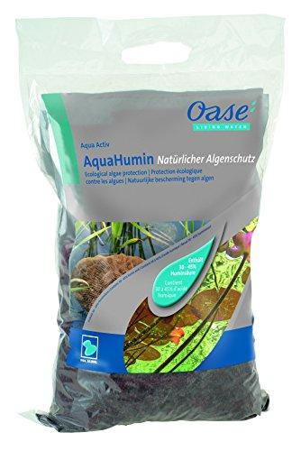 OASE 53759 AquaActiv AquaHumin Teichtorf Spezial-Torf für Gartenteich 10 l - natürlicher Algenschutz Wasserenthärter mit hohem Gehalt an Huminstoffen für Teich Fischteich Koiteich