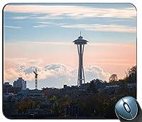 シアトルサンセットカスタマイズマウスパッド長方形マウスパッドゲーミングマウスマット