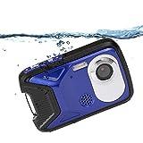 wasserdichte Digitalkamera für Jugendliche, Full HD 1080P Point & Shoot-Kamera, 8X Digitalzoom / 16 MP Unterwasserkamera