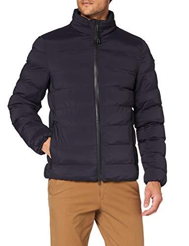 Geox Mens M MONDELLO Quilted Jacket, Blue Nights, 56