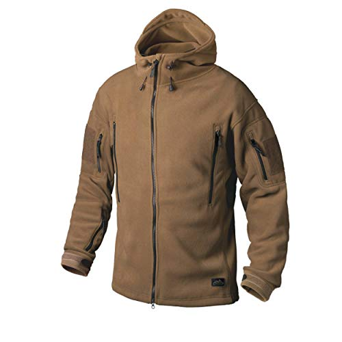 Helikon-Tex Patriot Jacke -Double Fleece- Coyote, Braun, M