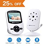 Video Baby Monitor with Camera [2019 Upgraded] Night Vision, Two-Way...