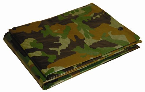 12' x 16' Dry Top Camouflage 7-mil Poly Tarp item #412161 by DRY TOP