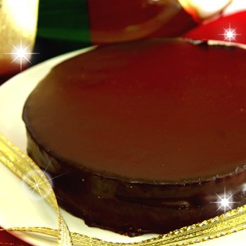 贅沢チョコをたっぷり満喫!!魅惑のザッハトルテ 5号サイズ
