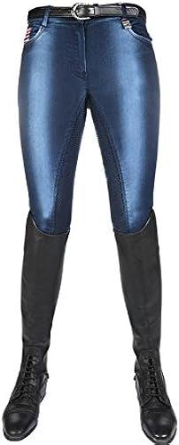HKM Pantalon USA Denim Bleu Jeans 34