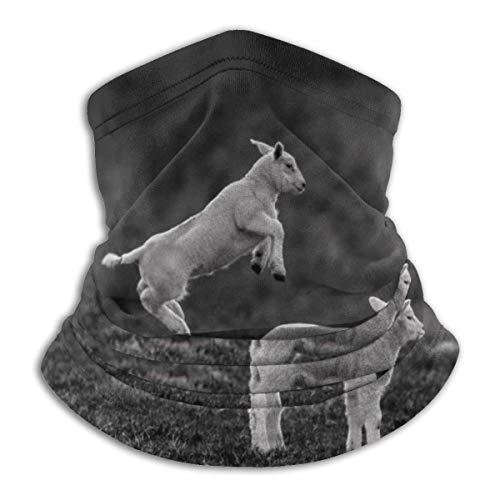 Sheep Jump Neck Gaiter Warmer Windproof Face Shield Scarf Magic Balaclava Sports de Plein air