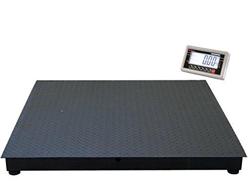 WKA Geeichte Bodenwaage PB (Max 3.000 kg - Teilung 1.000 g, 1500 x 1500 mm)