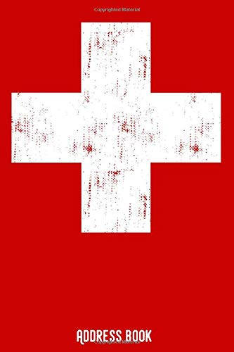 Adress book: Phone & contact book - Schweiz / Swiss: All contacts at a glance - 120 pages in alphabetical order / size 6x9