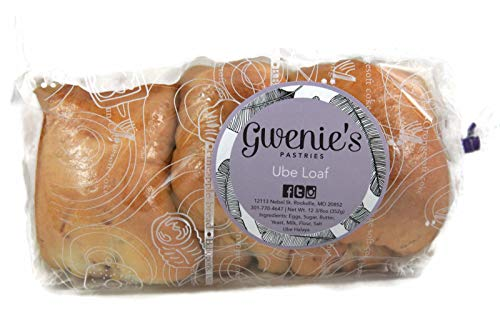 Gwenie's Pastries Ube Loaf (1 Pack) Consume within 5 days or refrigerate