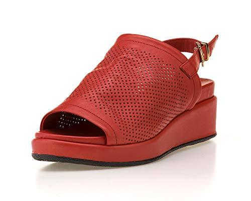 The FLEXX Belle 2 Sandalia Mujer Rojo 40 EU