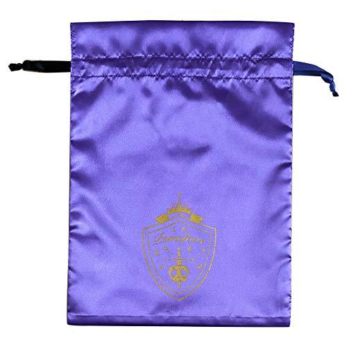 【予約販売】ツイステッドワンダーランド サテン巾着 ポムフィオーレ APDS5498_0