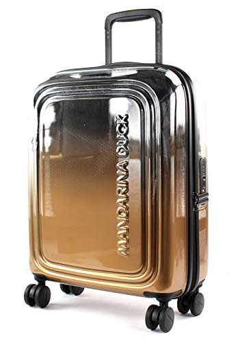 MANDARINA DUCK Popsicle Lux Wheeled Trolley S Champagne