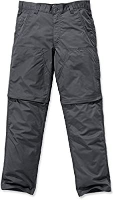 Carhartt Mens Force Extremes Convertible Pant, Shadow, 34W X 30L