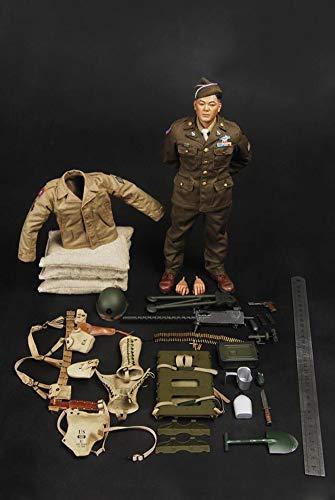WEP Figuras De Acción Militar A Escala 1/6, 12 Pulgadas De La Segunda Guerra Mundial Ejército Japonés Americano 442O Regimiento De Infantería para Fotografía, Colección, Entusiastas Militares