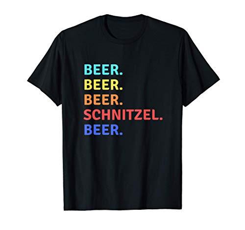 Bier Schnitzel Oktoberfest 2019 Deutscher Trinkteam Tank T-Shirt