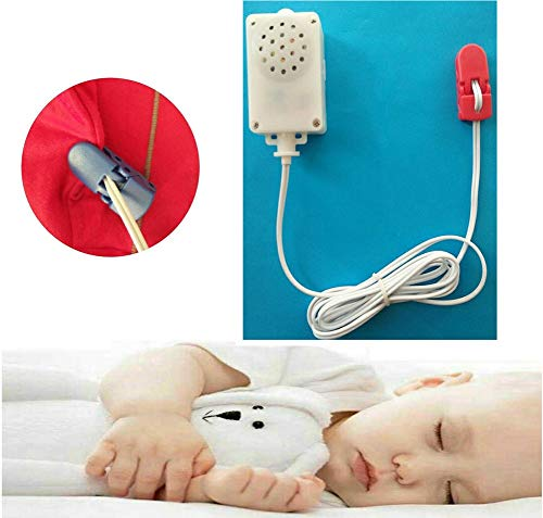 JIN Strong Vibrations Incontinence & Bedwetting Enuresis Alarm for Deep Sleepers Children Girls & Boys