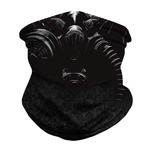 Linowi Stirnband Bandana Gesichtsbedeckungen Multifunktionale Nahtlose Stirnband Schal Elastische Kopfbedeckung Bandana Halsgamaschen UV-Sturmhaube für Frauen Männer