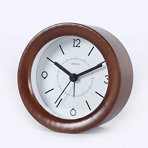 FENXIMEI Elm hout stille kleine wekker met nacht licht snooze functie kleine digitale klok