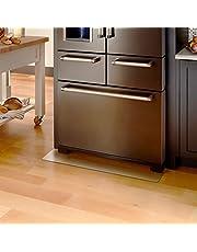 Kitdine 冷蔵庫 マット キズ防止 凹み防止 床保護シート無色 透明 国内正規一年保証