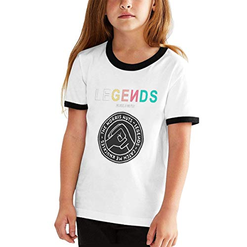 Yuantaicuifeng Norris Nuts - Camiseta ligera de manga corta para niños