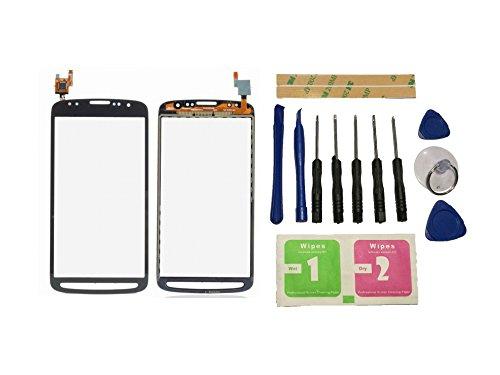 Flügel für Samsung Galaxy S4 Active i9295 i537 Touchscreen Display Digitizer Glas Schwarz Bildschirm Frontglas (Ohne LCD) Ersatzteile & Werkzeuge & Kleber