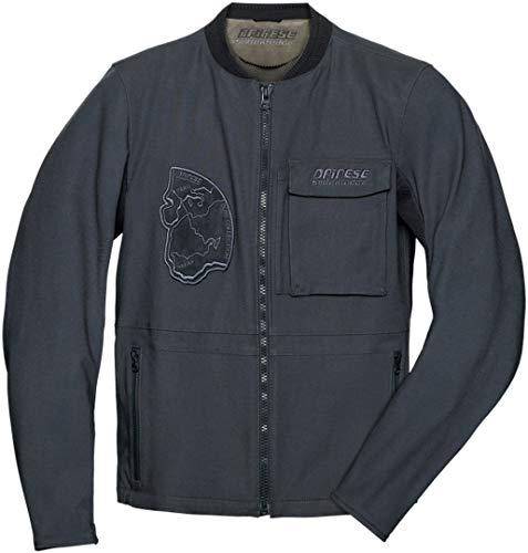 Dainese Sabha Tex Jacket, chaqueta para moto de verano 52 Ebano
