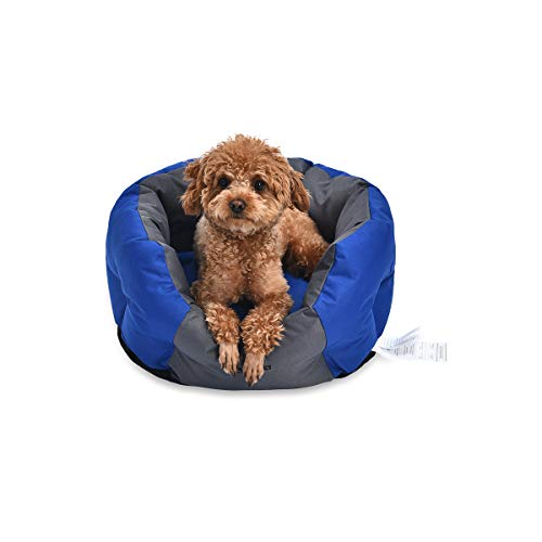 Amazon Basics Water-Resistant Pet Bed for Small Dogs