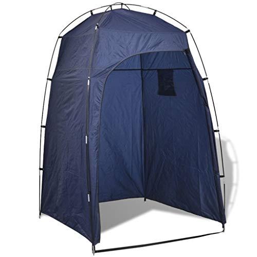 Tidyard Tenda da Esterno per Doccia/WC/Cambio Vestiti Blu,Tenda Automatica Portabile per Famiglia