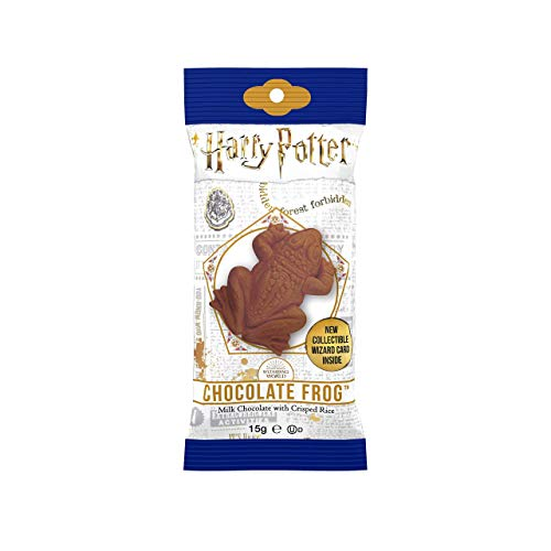 Harry Potter Milk Chocolate Frog with Collectible Wizard Trading Card .55oz