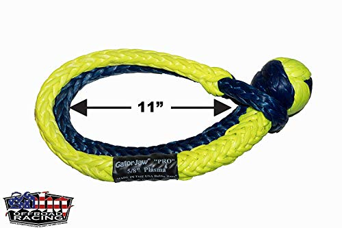 Best Prices! Bubba Rope Gator-Jaw Pro Synthetic Soft Shackle - Made in The USA (125,000lb Breaking S...