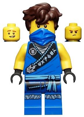 LEGO Minifigura reiniciada Ninjago Jay desde 71737 (Embolsada)