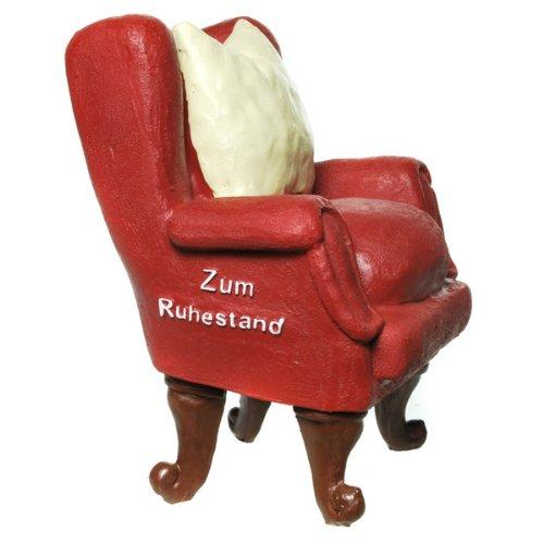 Spardose Sessel - Zum Ruhestand