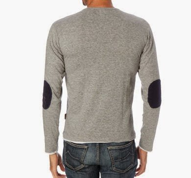 Harry Kayn-T-Shirt Manches Longues Homme CEGRANPA- Gris-M
