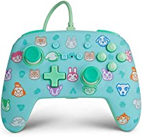 PowerA Enhanced Wired Controller for Nintendo Switch - Animal Crossing, Gamepad, Wired Video Game Controller, Gaming...
