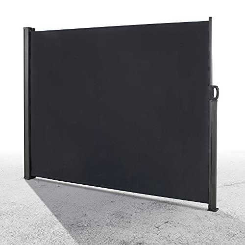 LINDER EXCLUSIV Tenda da sole laterale, protezione dal vento, 300 x 160 cm