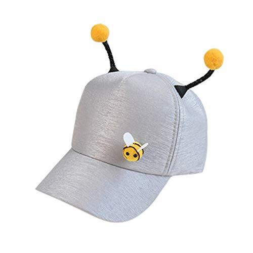 LEEDY – Polo Bee de Verano, Gorra de béisbol, Ajustable, algodón, Gorro de béisbol, Gorro de béisbol, Gorro de Verano, Sombrero de Sol para niña
