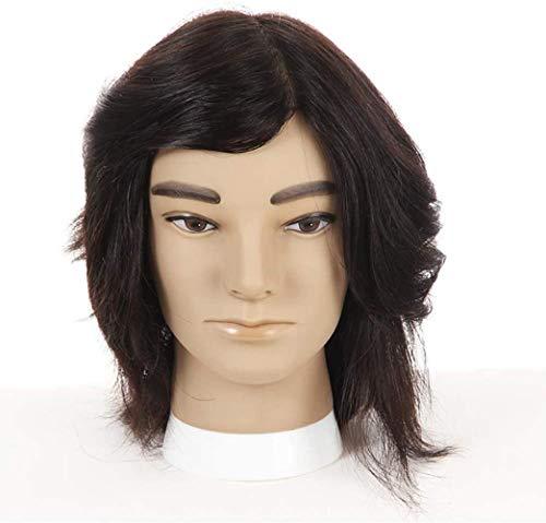 Maniquíes de costura Cabeza de Entrenamiento Real Hair Styling maniquí...