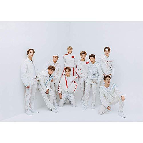 Mini Office Depot Kpop NCT Neues Album Papier Poster NCT 127 Fotos Wandgemälde für NCT Fans Sammlung(NCT 13)